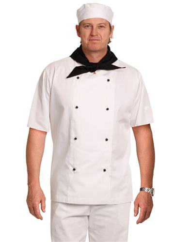 Traditional Chef's Short Sleeve Jacket